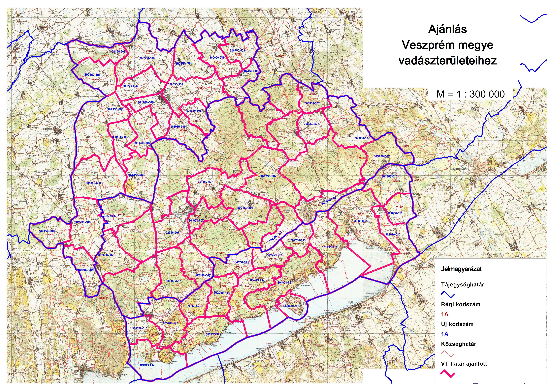 kapolcs térkép A következő vadgazdálkodási üzemterv időszakára a vadászterület  kapolcs térkép